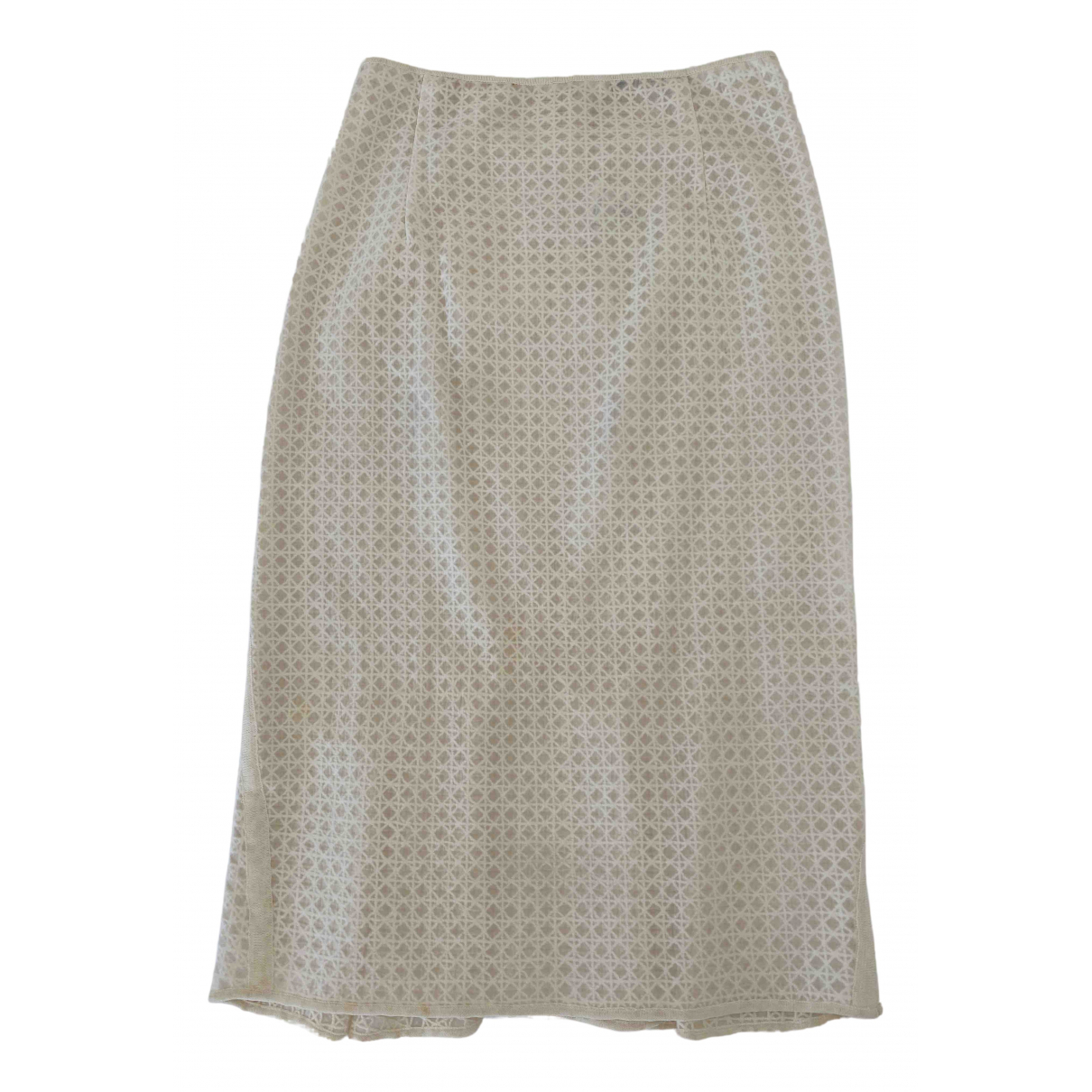 Ermanno Scervino \N White skirt for Women 40 IT