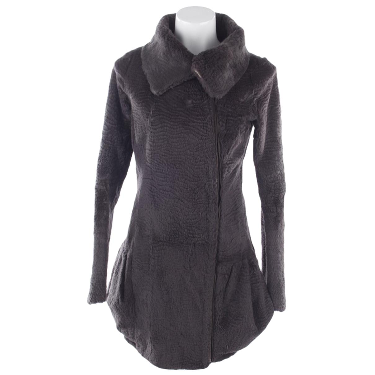 Preen \N Grey Fur jacket for Women M International