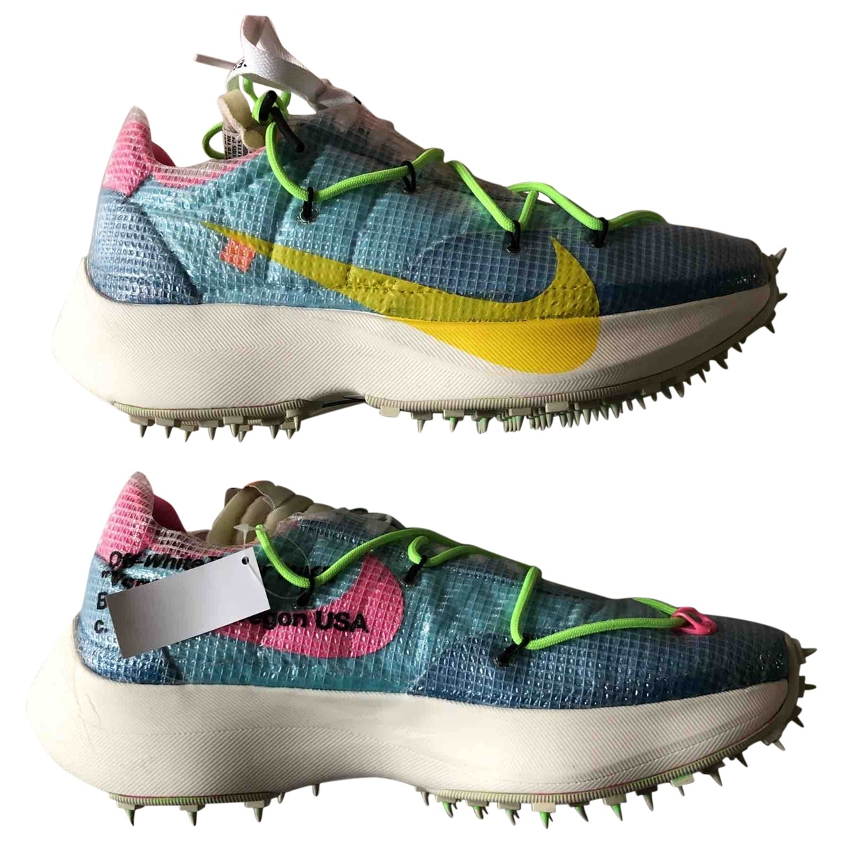 Nike X Off-white Vapor Street Turquoise Trainers for Men 9.5 US