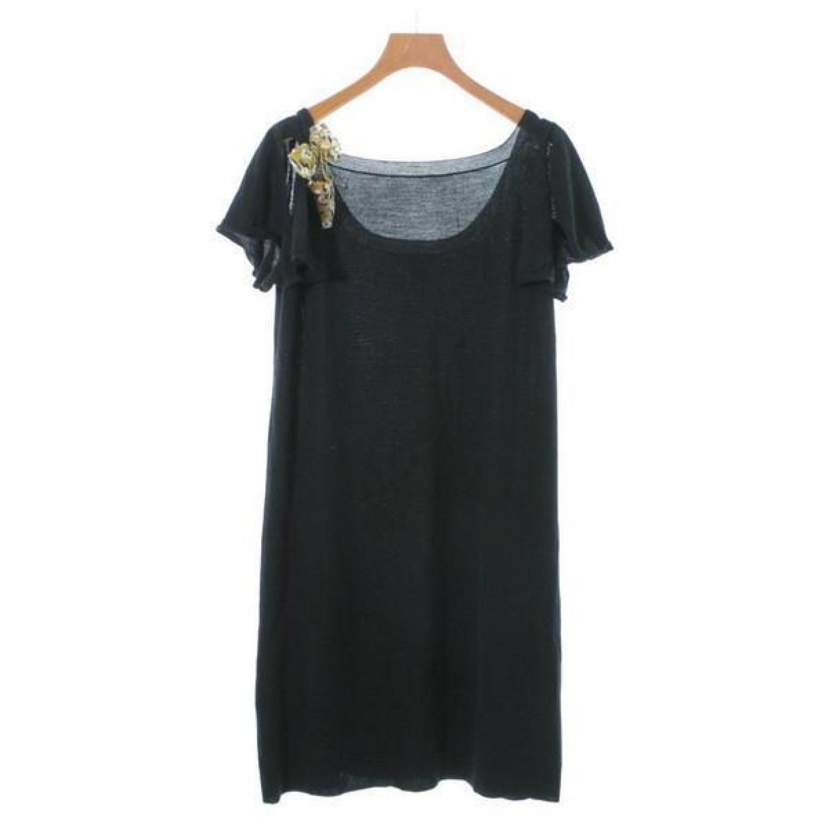 Louis Vuitton \N Black Wool dress for Women M International