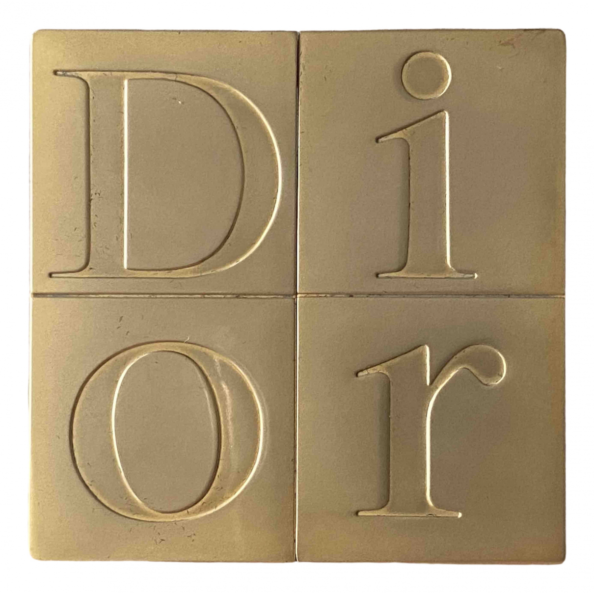 Dior \N Gold Metal Home decor for Life & Living \N