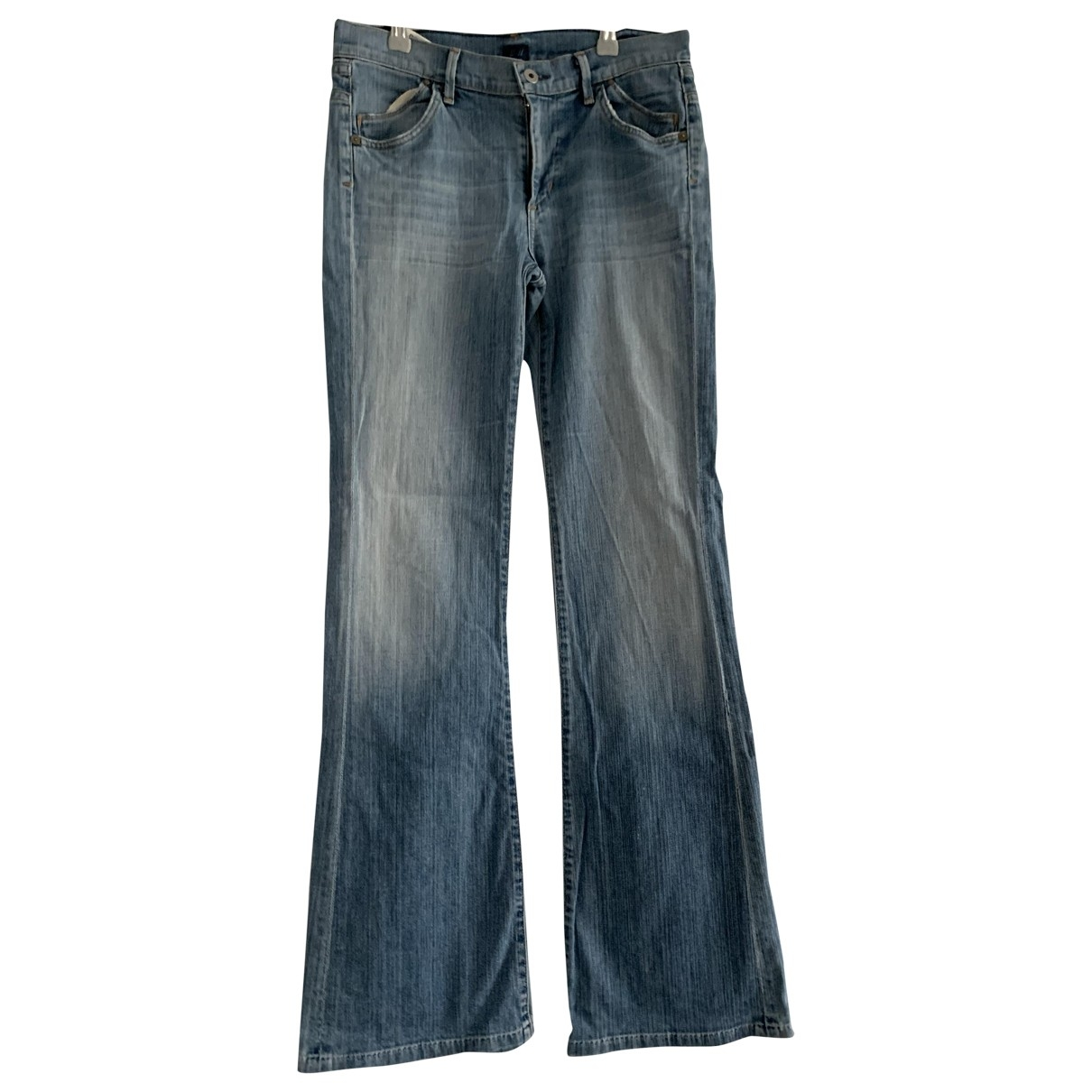Citizens Of Humanity \N Blue Cotton - elasthane Jeans for Women 28 US