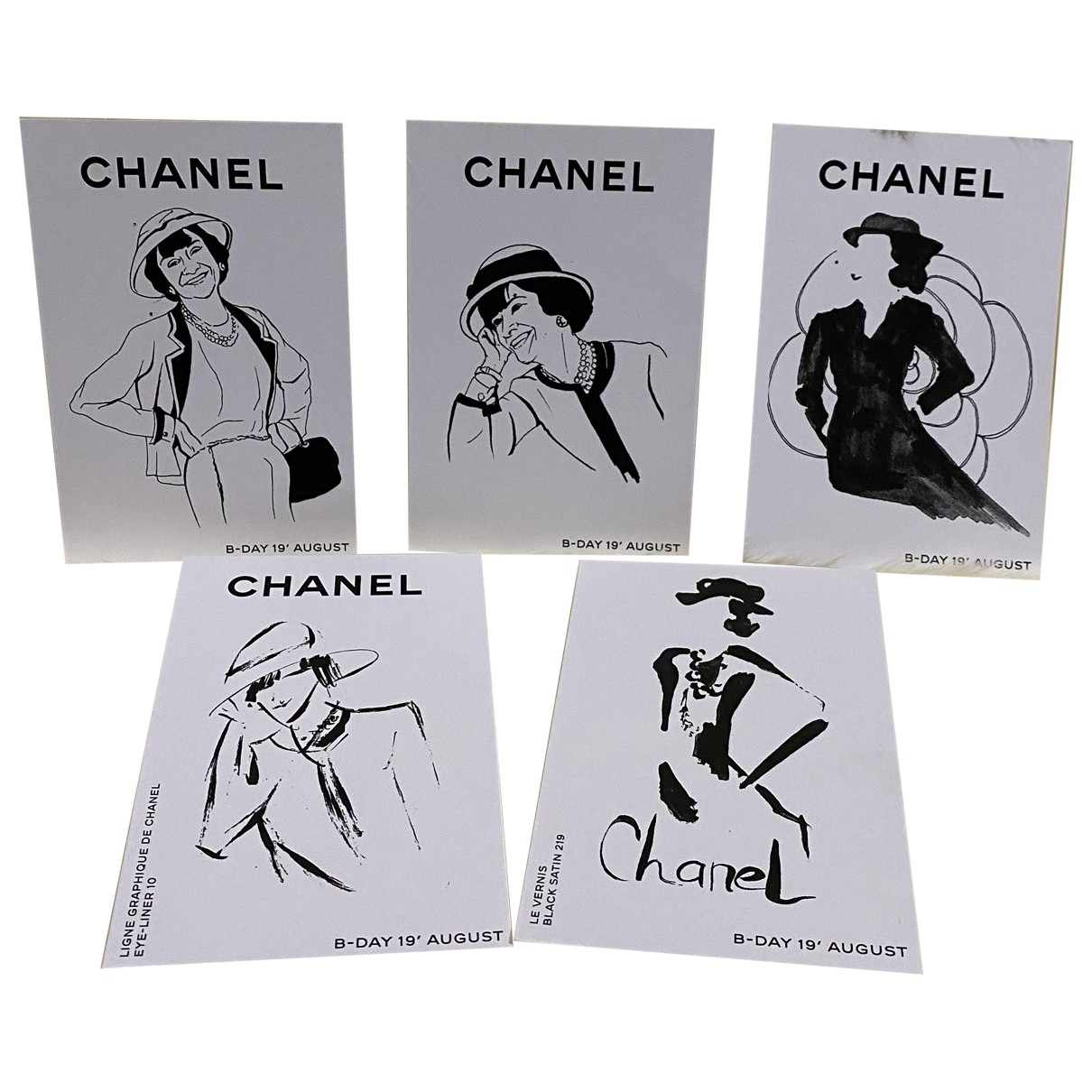 Chanel N White Home decor for Life & Living N