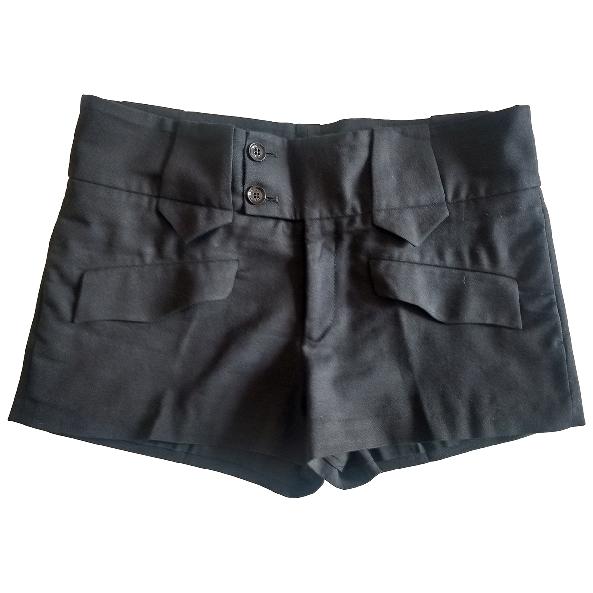 Gucci \N Black Cotton Shorts for Women 44 IT