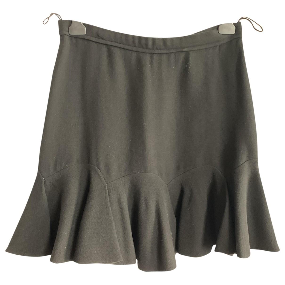 Carven \N Black skirt for Women 42 FR