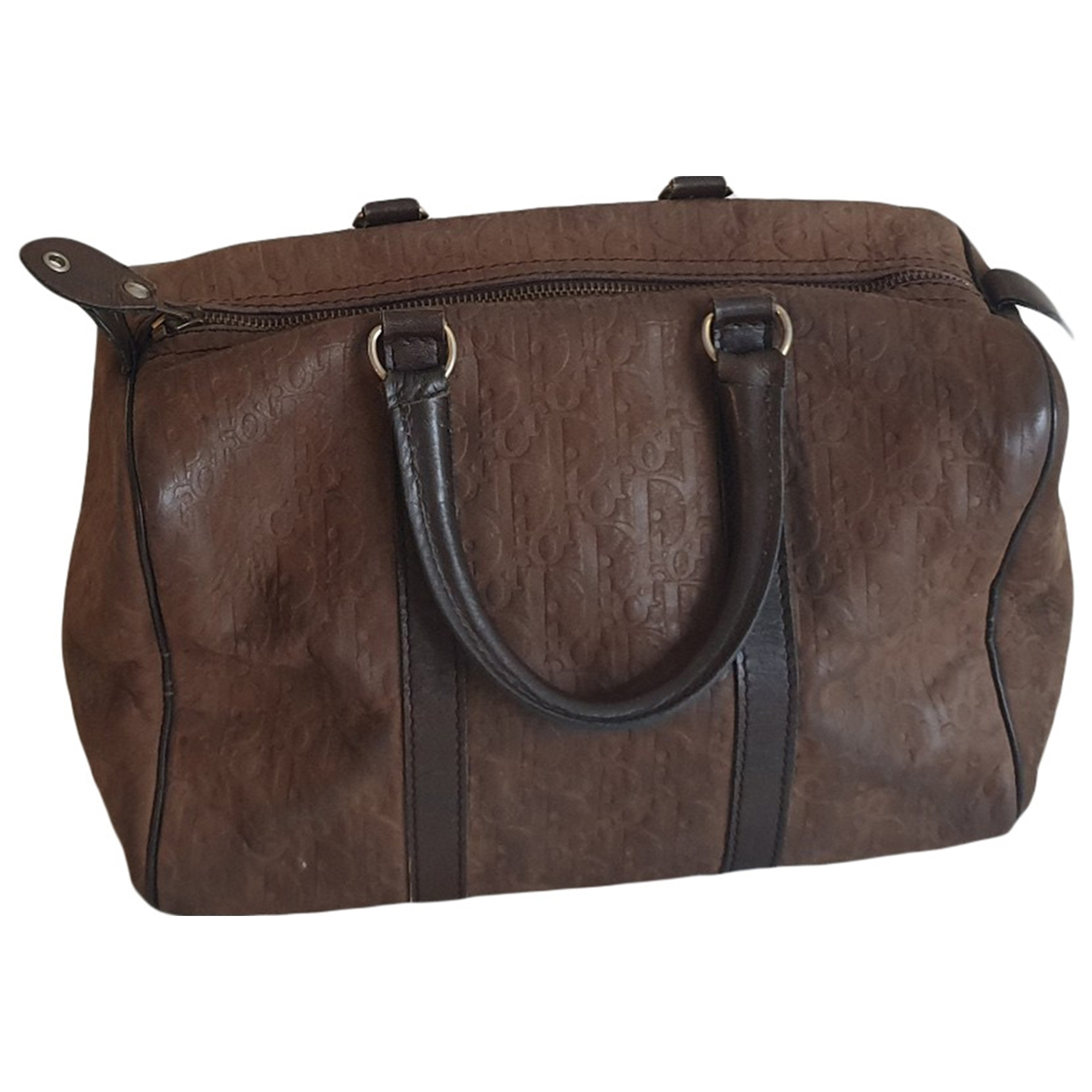 Dior \N Brown Leather Travel bag for Women \N