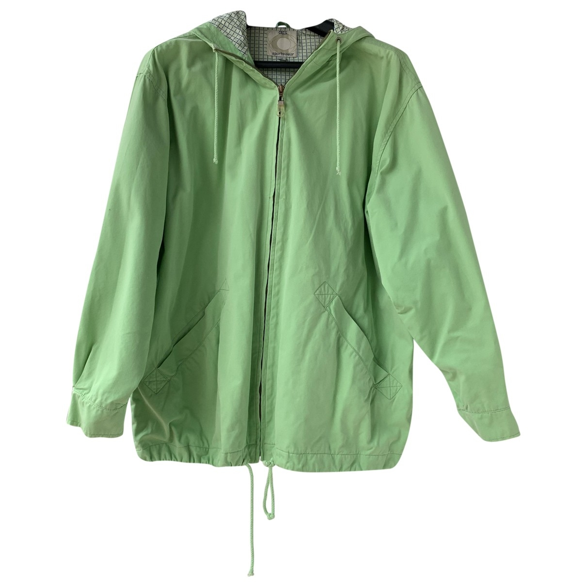 Non Signé / Unsigned \N Green Cotton jacket for Women M International