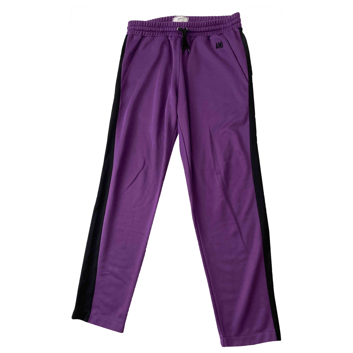 Ami \N Purple Trousers for Men S International