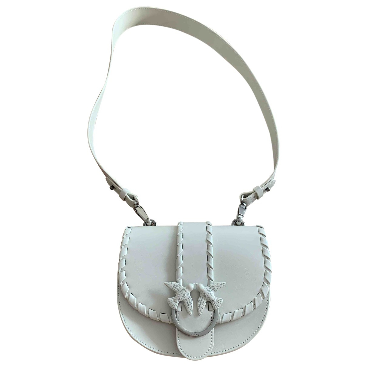 Pinko \N White Leather Purses, wallet & cases for Women \N