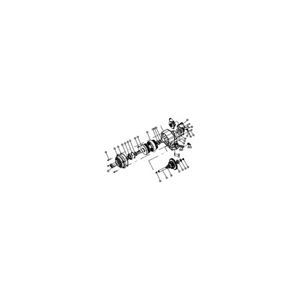 Chelsea 328591-89X - Greasable Shaft 442 489