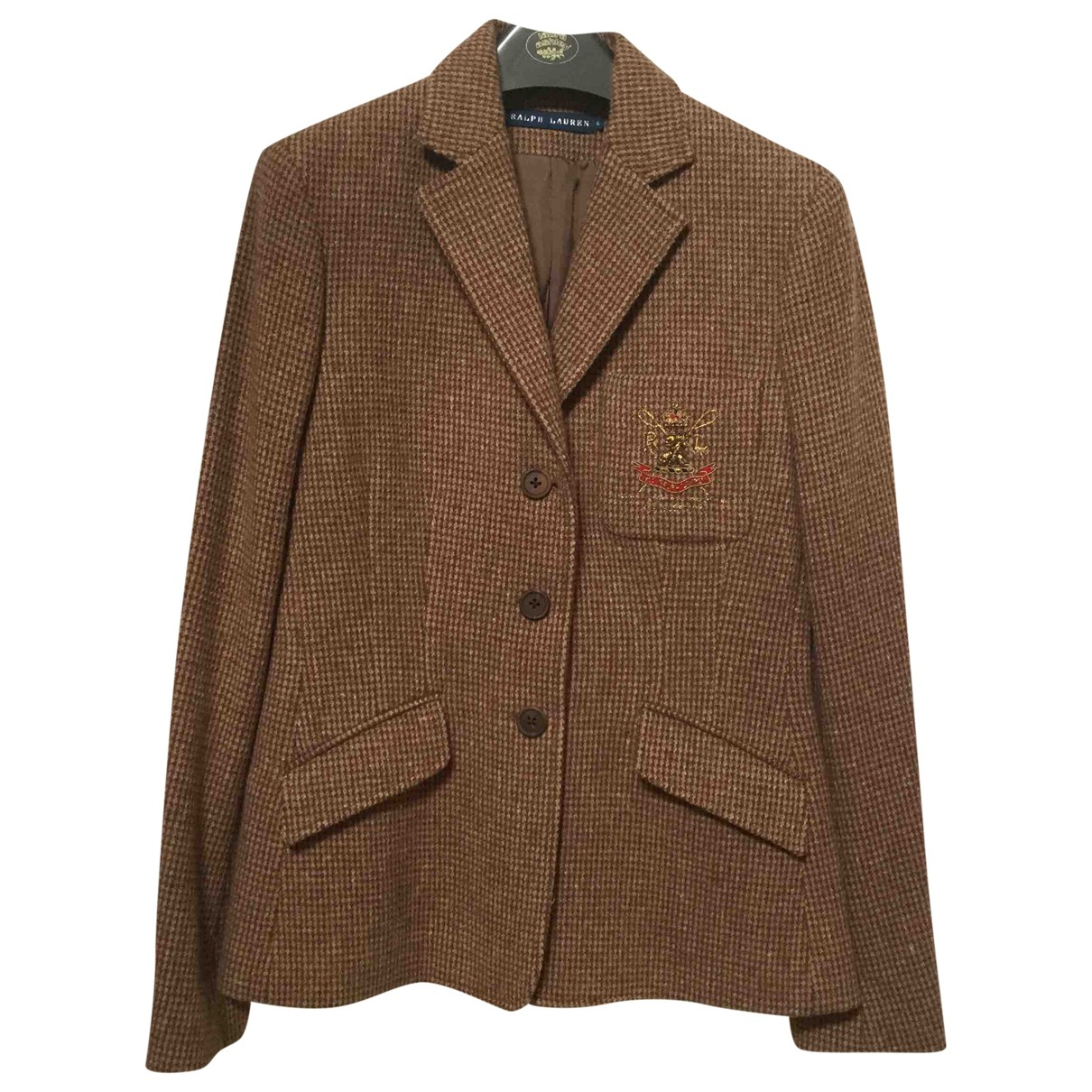 Ralph Lauren \N Brown Wool jacket for Women 6 US