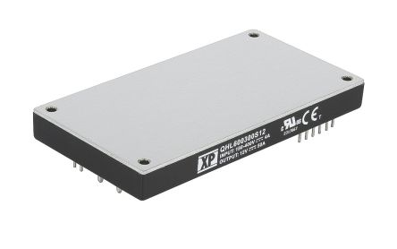 XP Power QHL600 600W Isolated DC-DC Converter Through Hole, Voltage in 180 → 425 V dc, Voltage out 24V dc