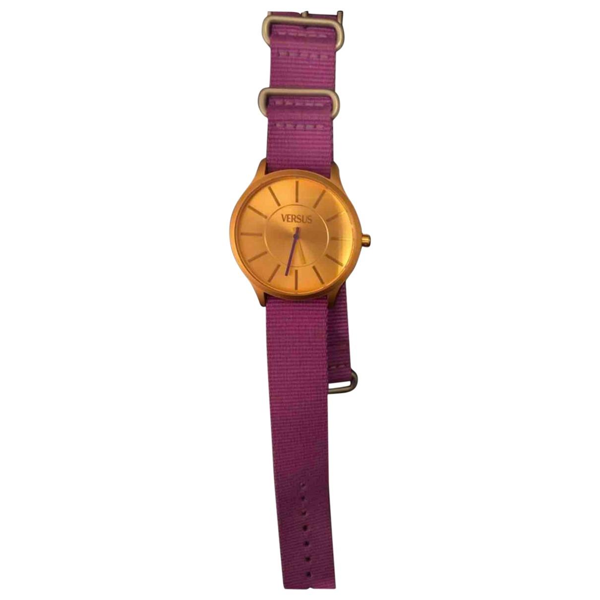 Versace \N Gold Steel watch for Women \N
