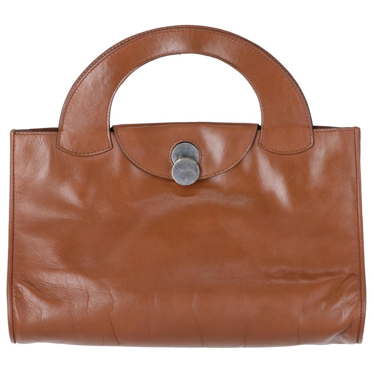 Gherardini \N Brown Leather handbag for Women \N
