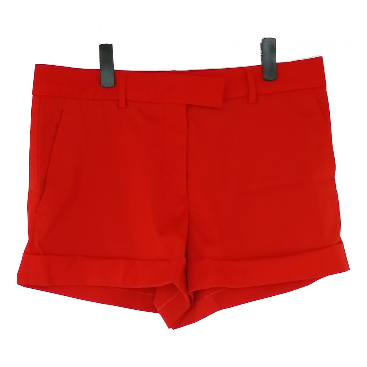 Jean Paul Gaultier \N Red Wool Shorts for Women 44 FR