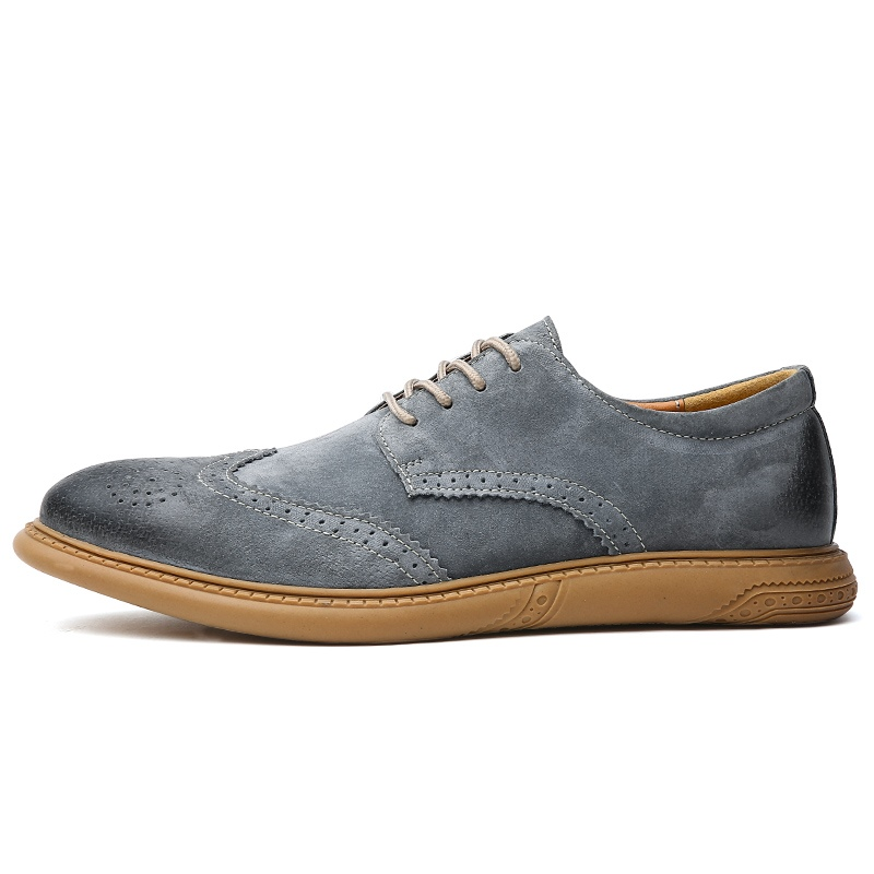 Ericdress Nubuck Leather Low-Cut Upper Men's Work Shoes