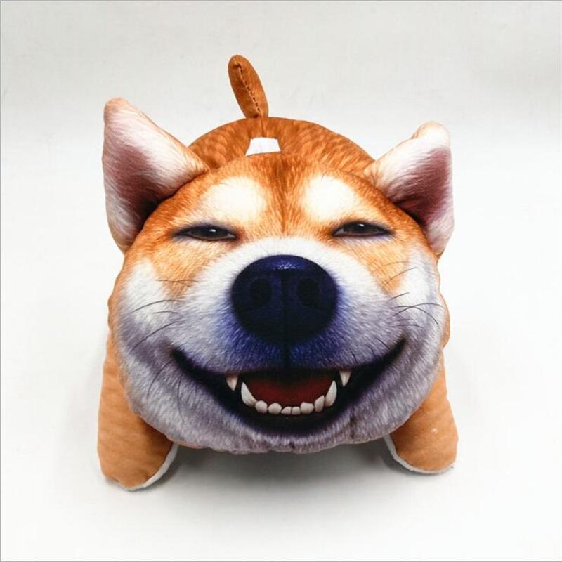 Creative Car Plush Dogs Tissue Boxes