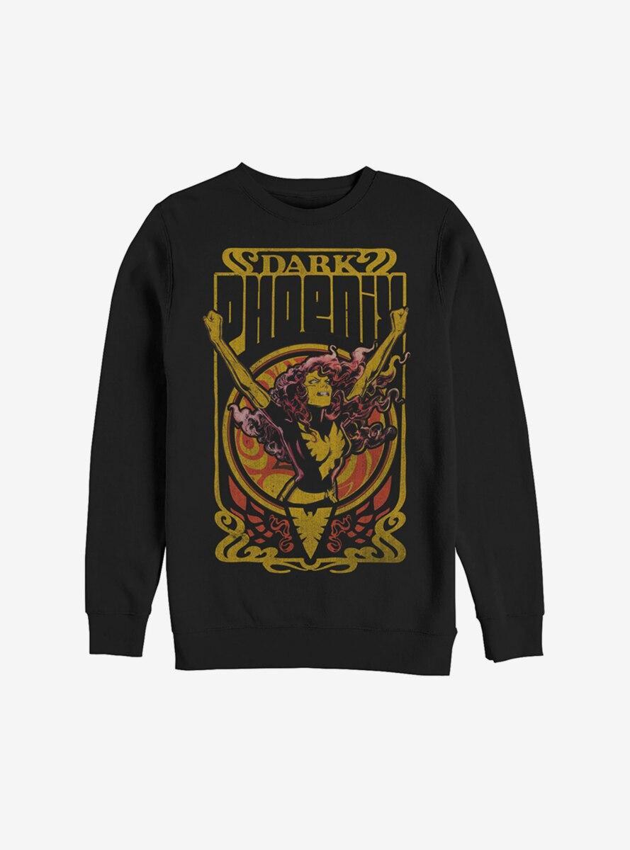 Marvel X-Men Dark Phoenix Fire Sweatshirt