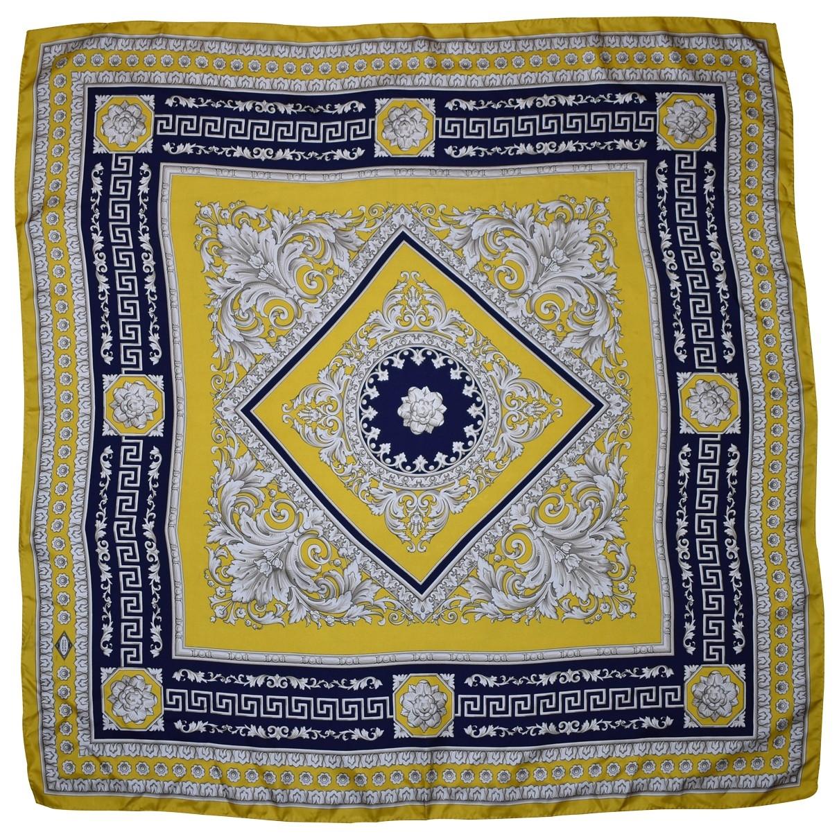 Versace \N Multicolour Silk Silk handkerchief for Women \N