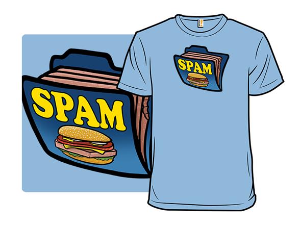 Spam Folder T Shirt