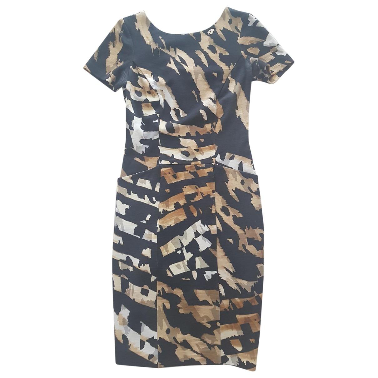 Blumarine \N Black Wool dress for Women 42 IT