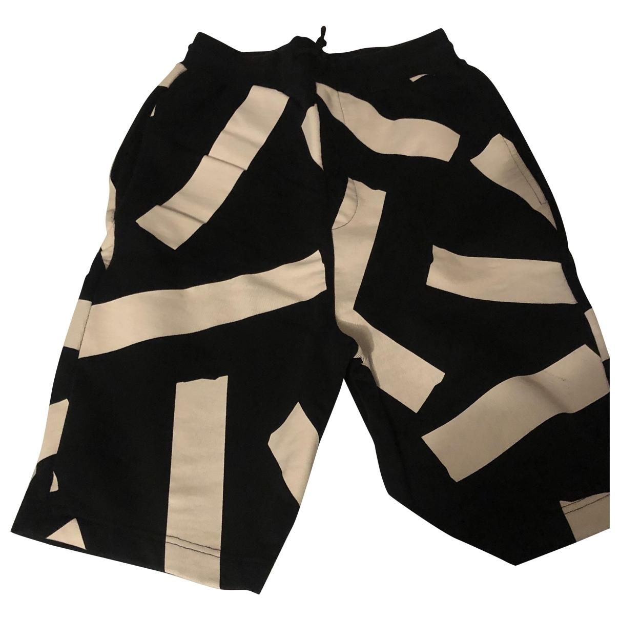 Mcq \N Black Cotton Trousers for Men M International