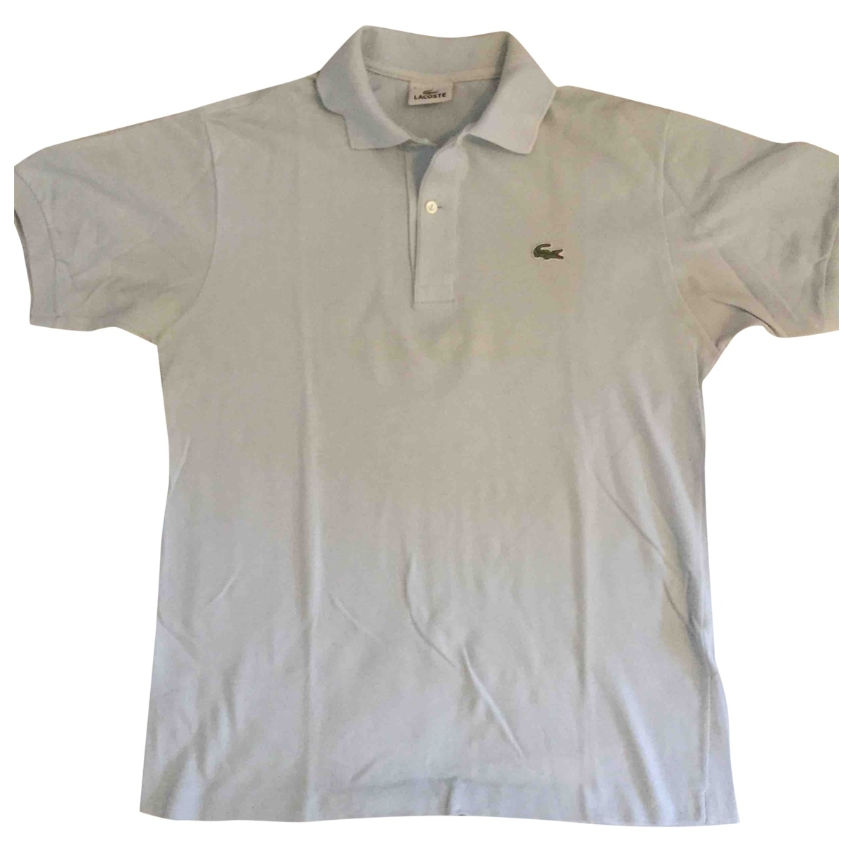 Lacoste \N Turquoise Cotton Polo shirts for Men 3 0 - 6