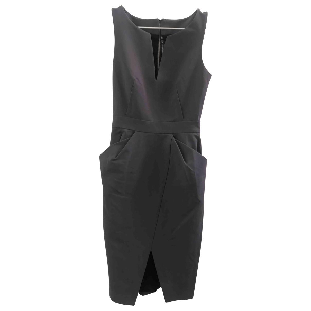Thomas Wylde \N Grey Silk dress for Women 0 0-5