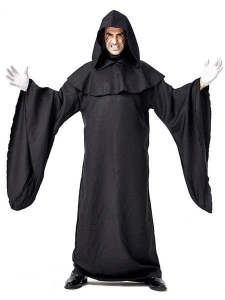 Milanoo Halloween Costumes Demons Monsters Scary Cloak Polyester Halloween Set Holidays Costumes