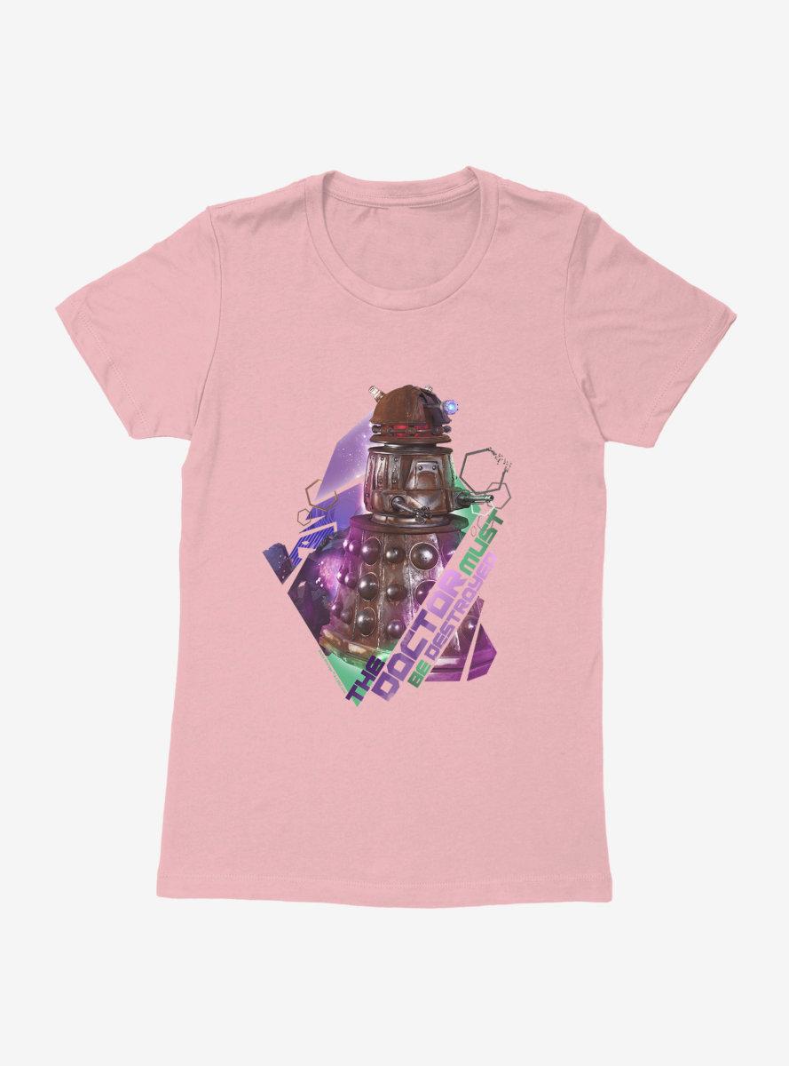 Doctor Who Thirteenth Doctor Dalek Destruction Womens T-Shirt