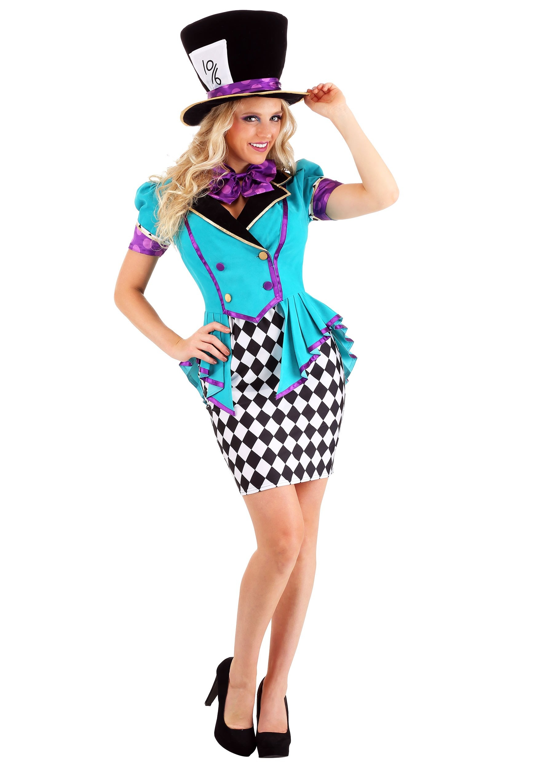 Marvelously Mad Hatter Women's Costume