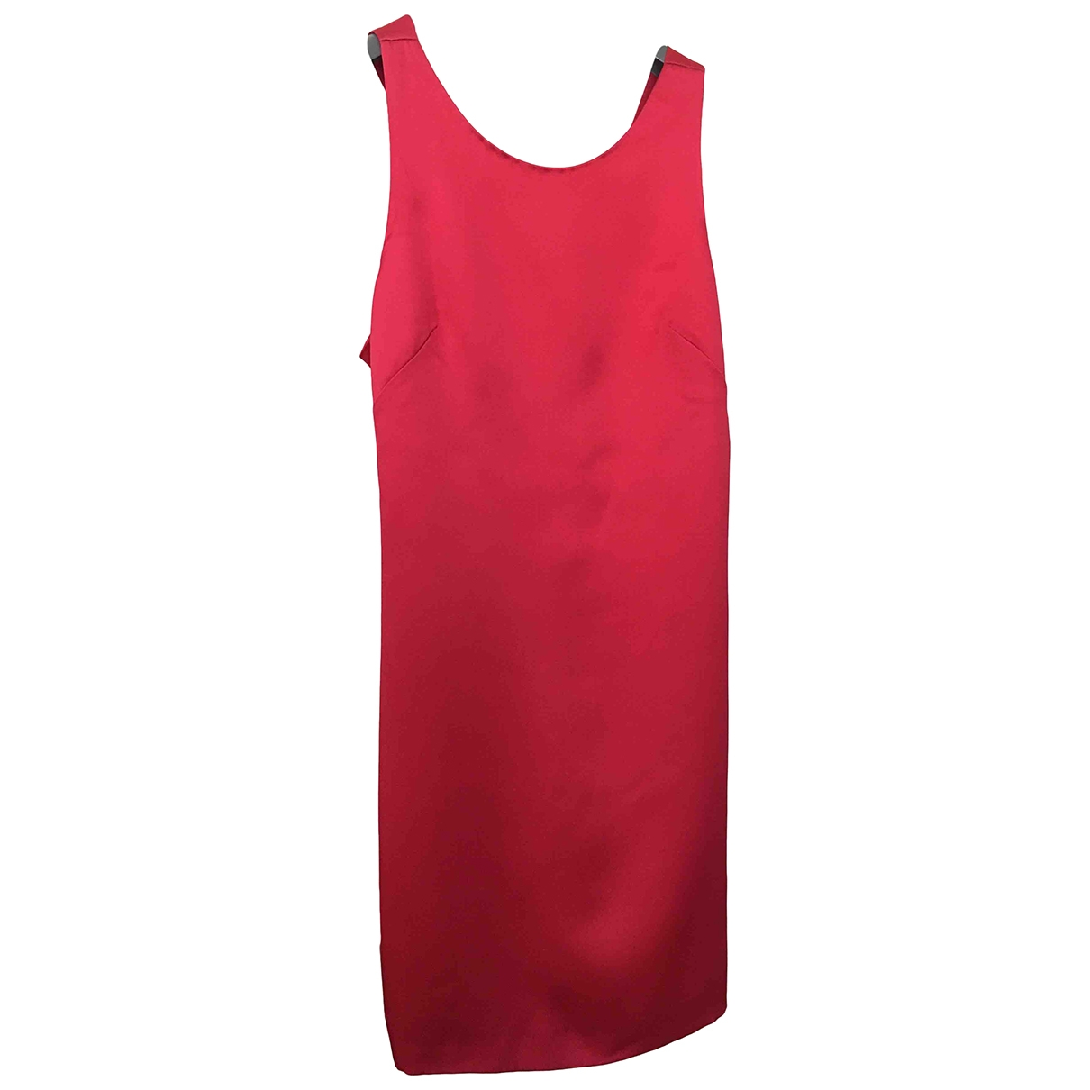 Prada \N Red Silk dress for Women 42 IT