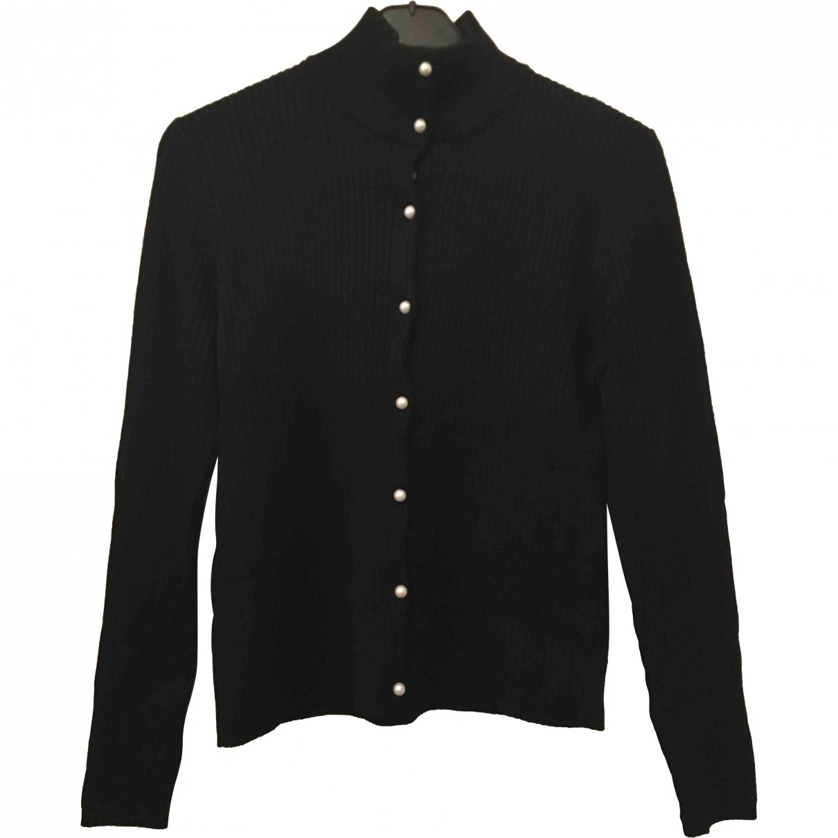 Sandro \N Black Wool Knitwear for Women 40 FR
