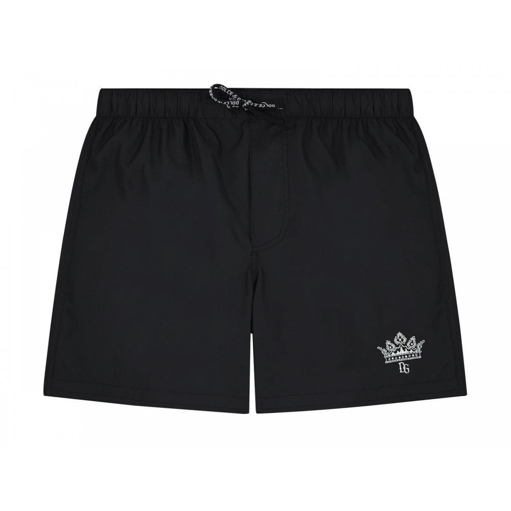 Dolce & Gabbana Swim Shorts Colour: BLACK, Size: 6 YEARS