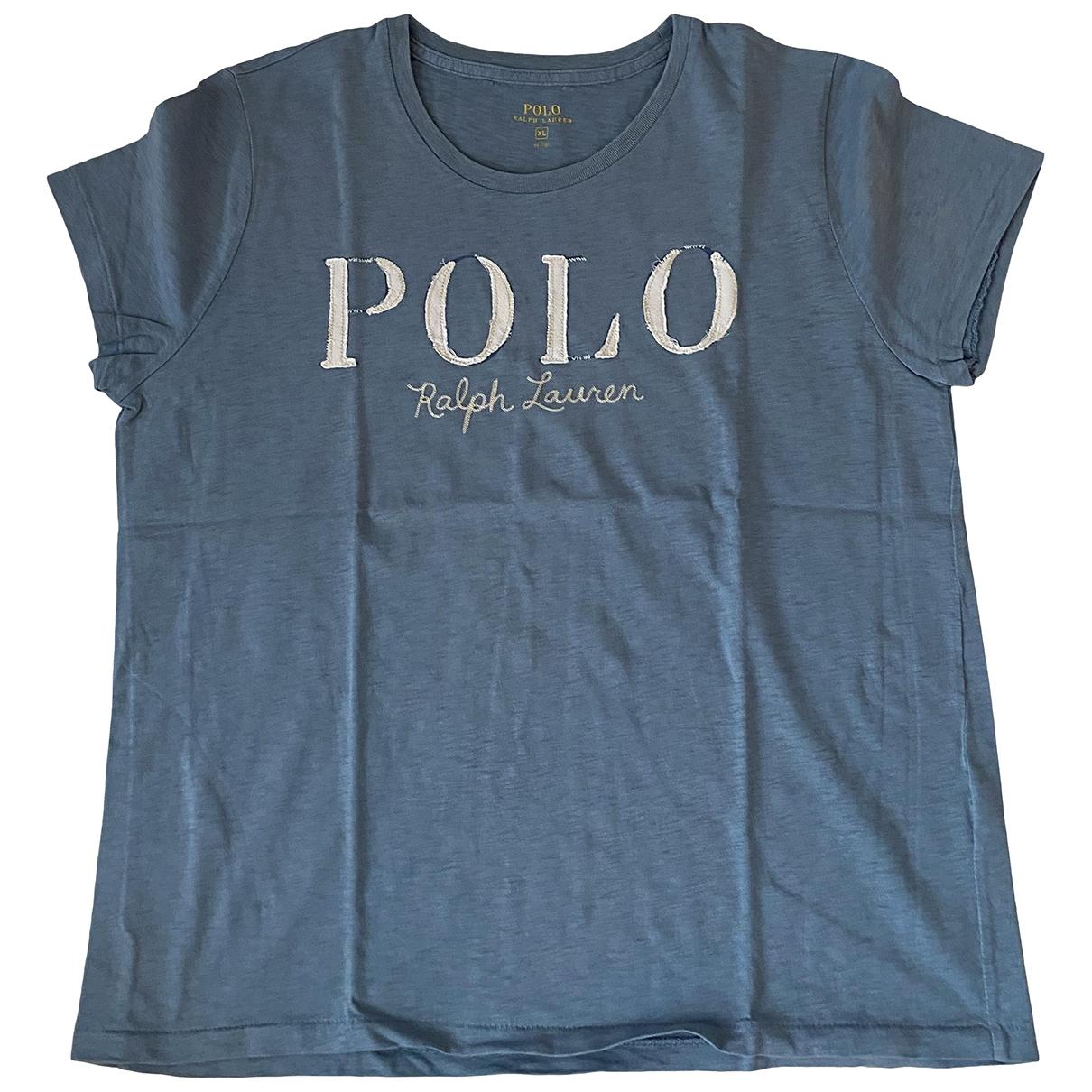 Polo Ralph Lauren \N Blue Cotton  top for Women XL International