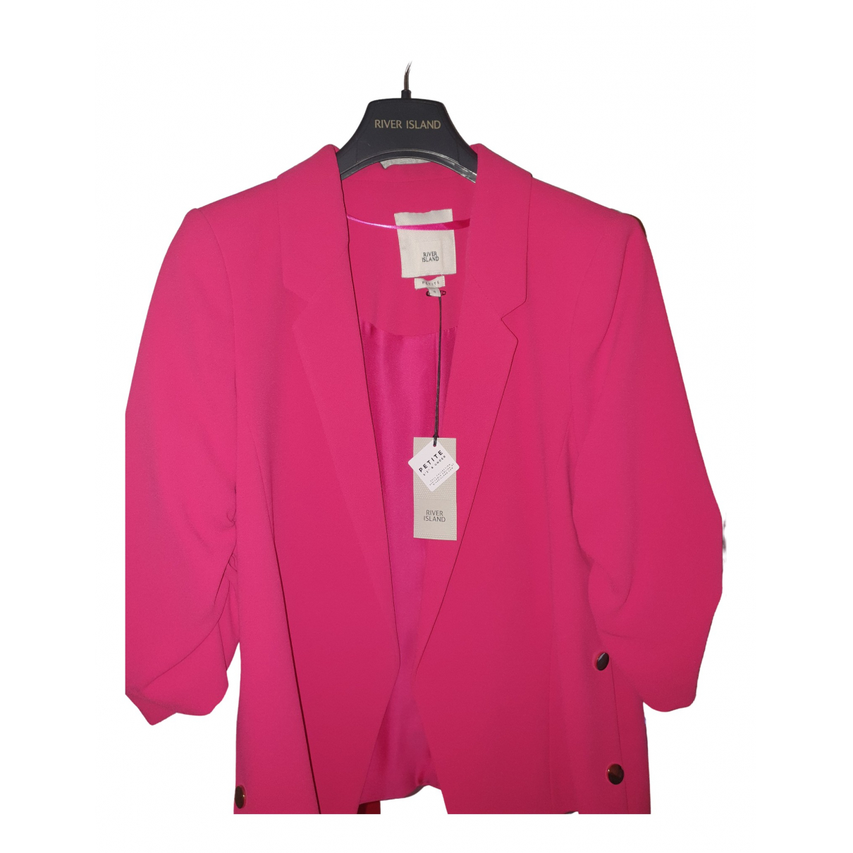River Island \N Pink jacket for Women 8 UK