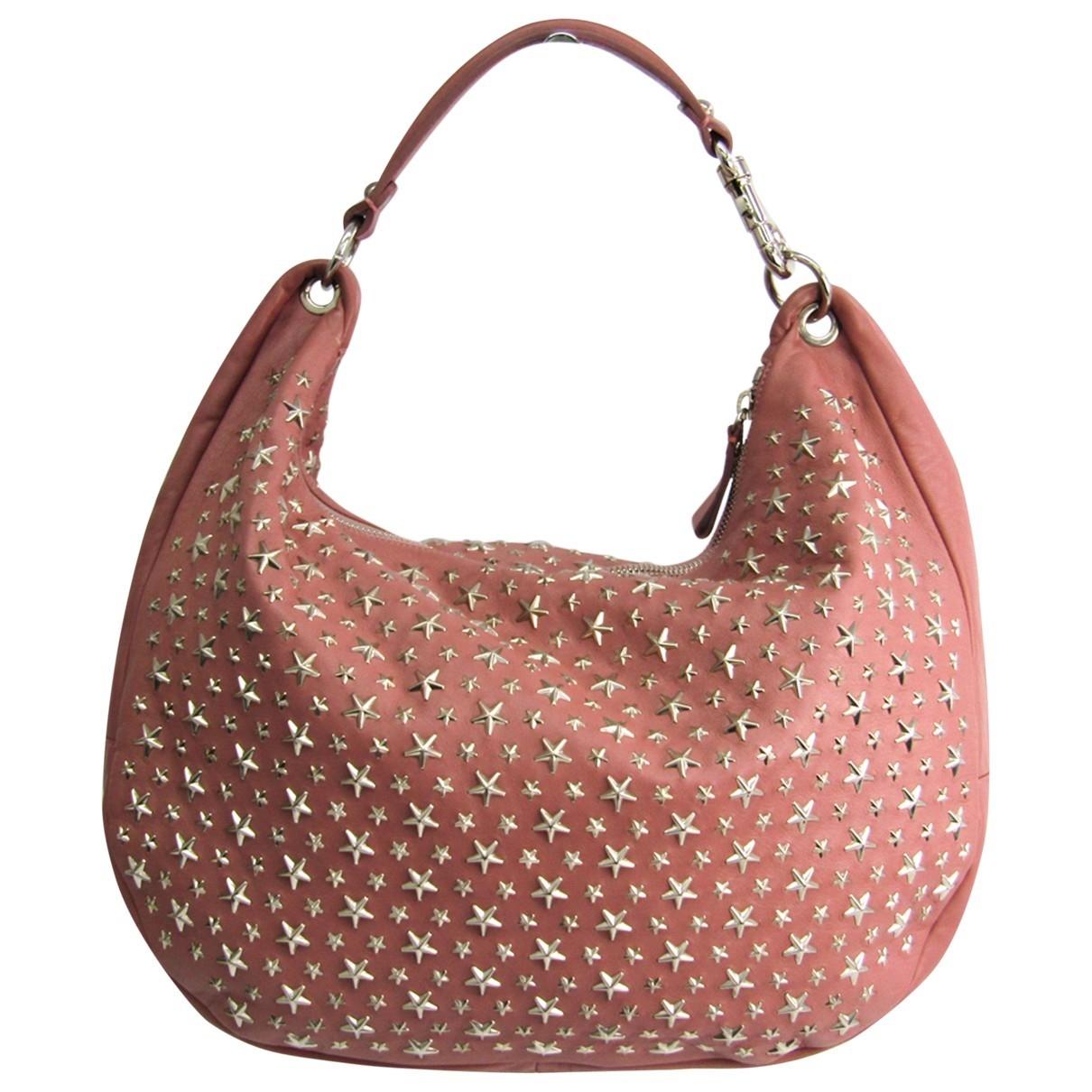 Jimmy Choo \N Pink Leather handbag for Women \N