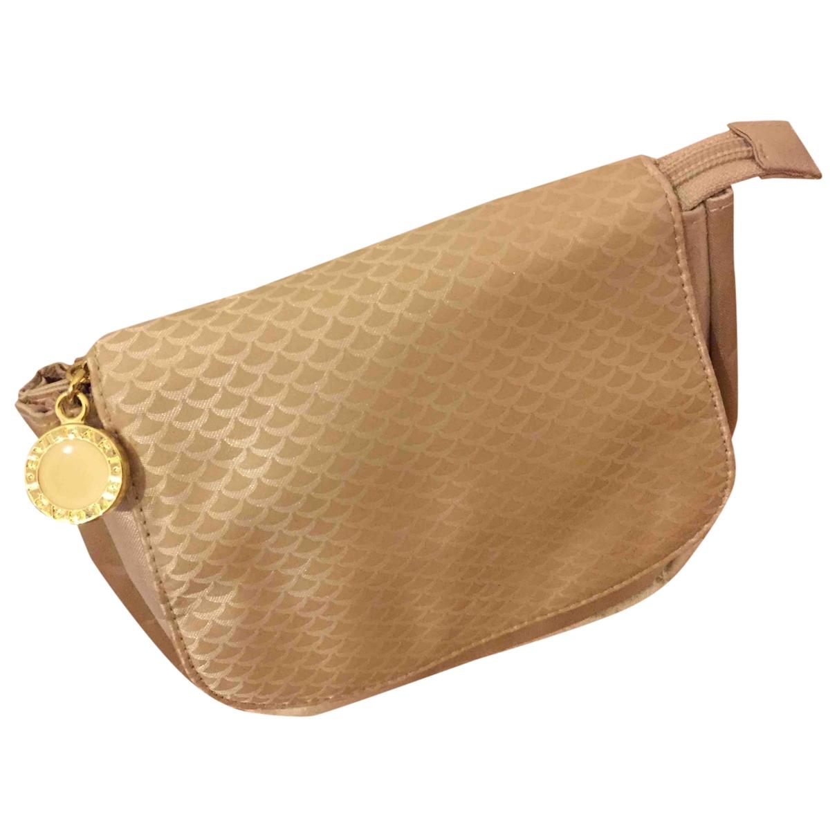 Bvlgari \N Beige Cloth handbag for Women \N