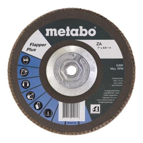 Metabo 7 In. Flapper Plus 60 5/8 In.-11 T27 Fiberglass