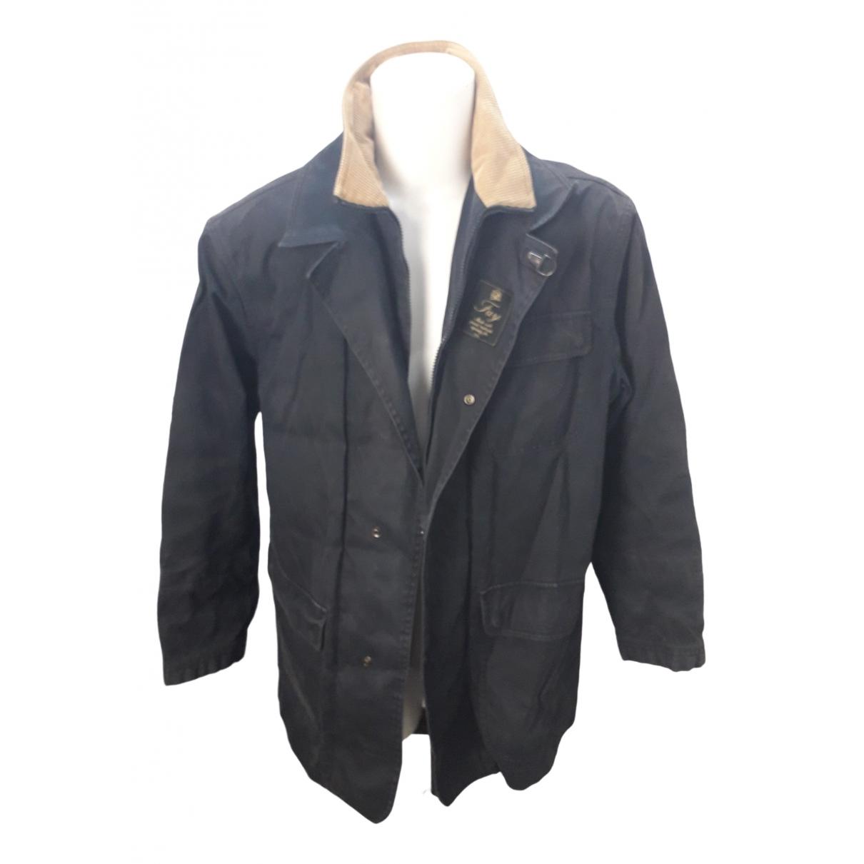 Fay \N Blue Cotton jacket  for Men L International