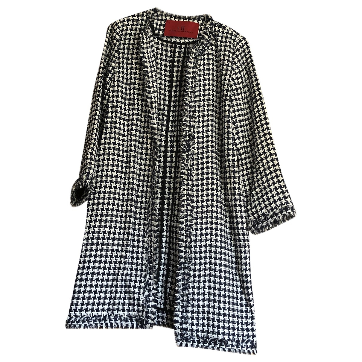 Carolina Herrera \N Blue Cotton coat for Women 10 US