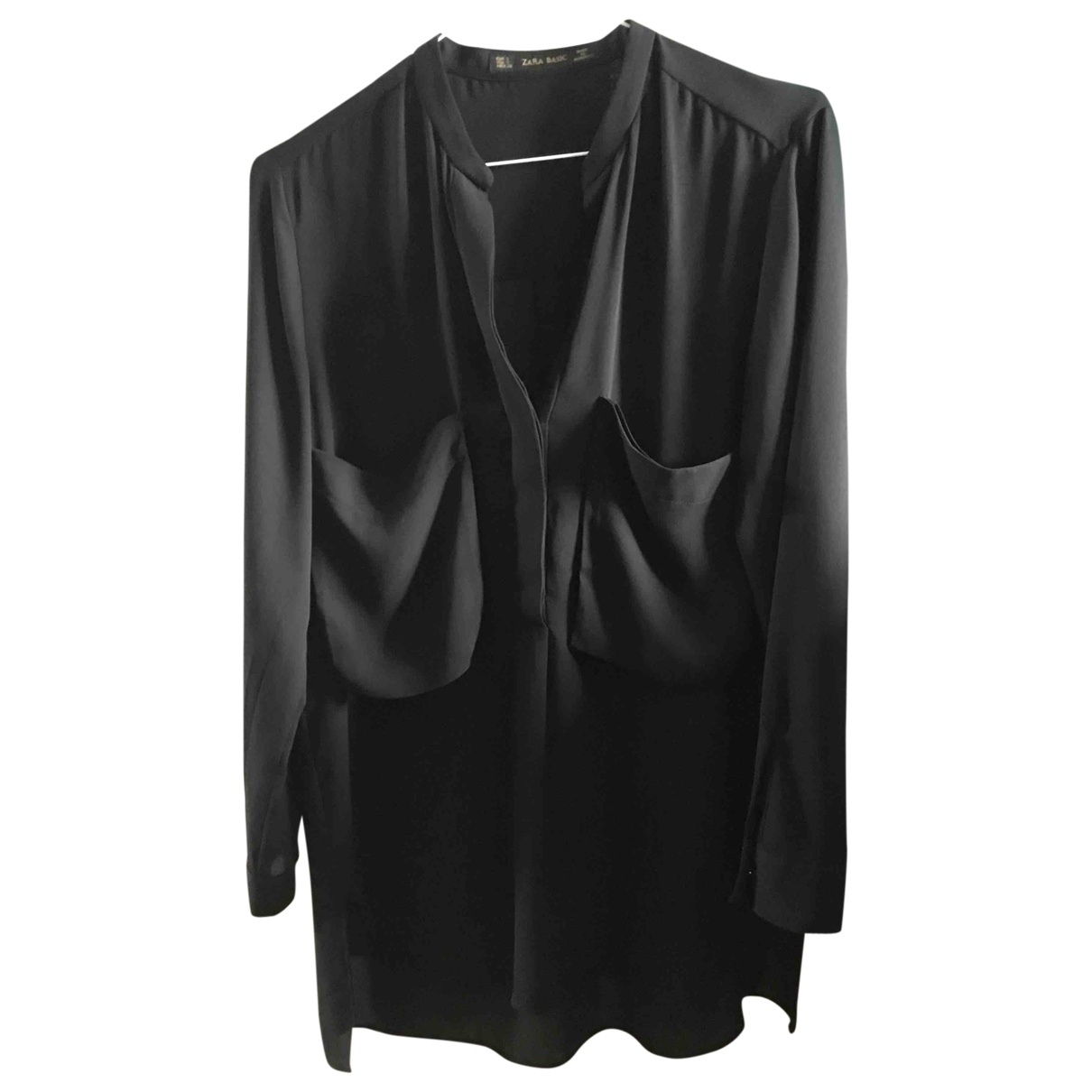 Zara \N Black  top for Women S International