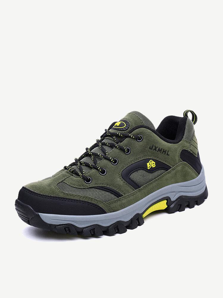 Men Anti-collision Toe Outdoor Wear Resistant Hiking Sneakers