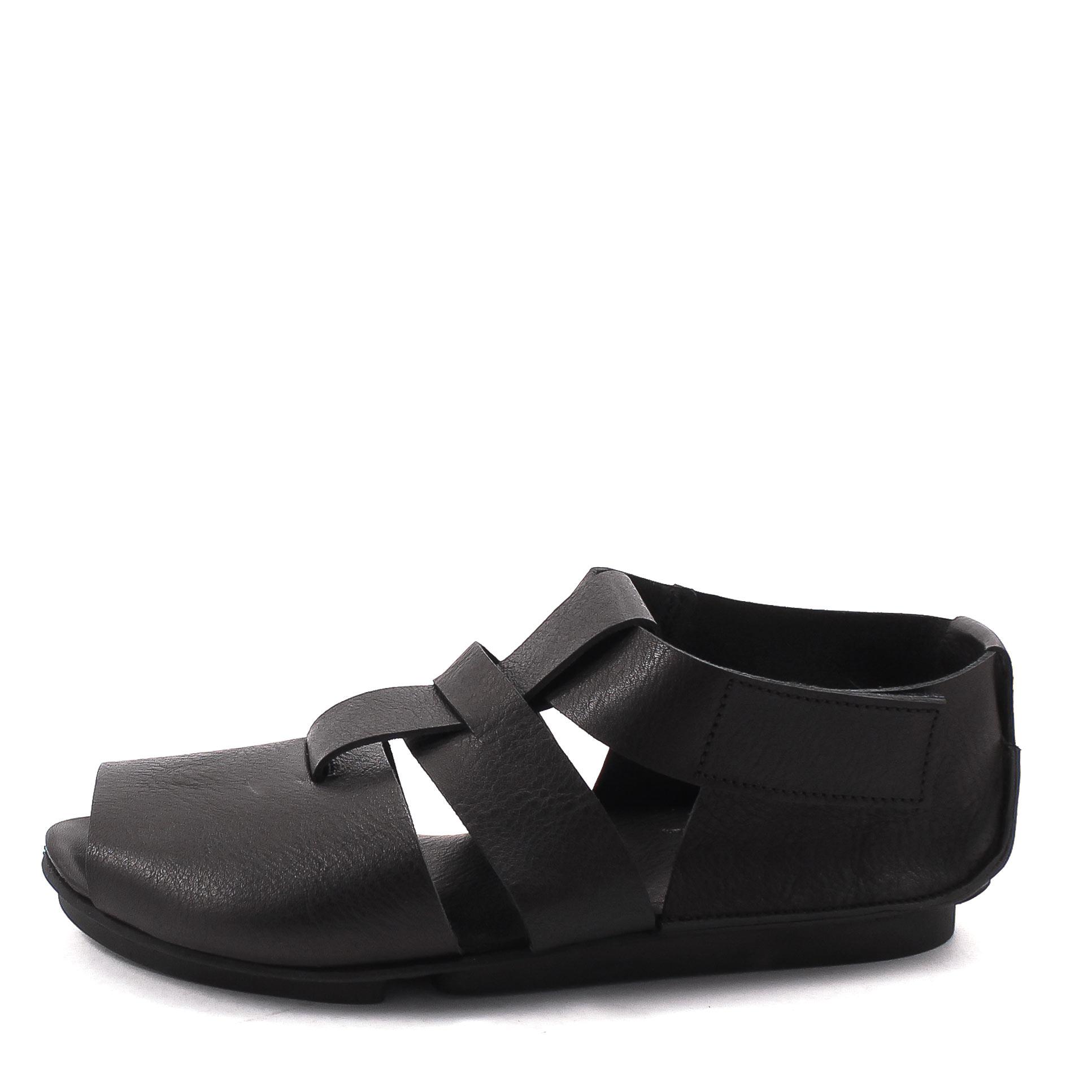 Trippen, Izmir m Penna Men's Sandals, black Größe 46