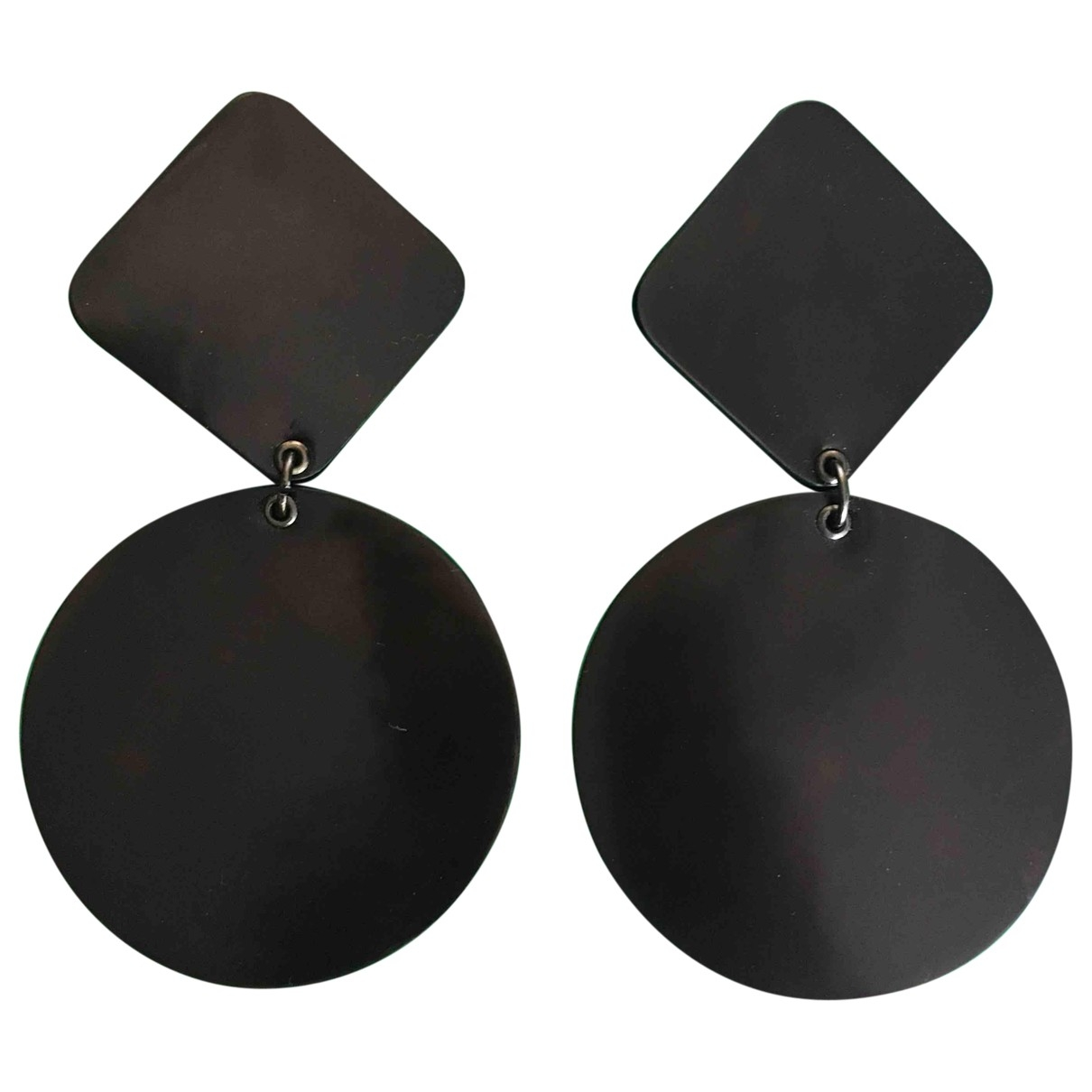 Emporio Armani \N Black Earrings for Women \N