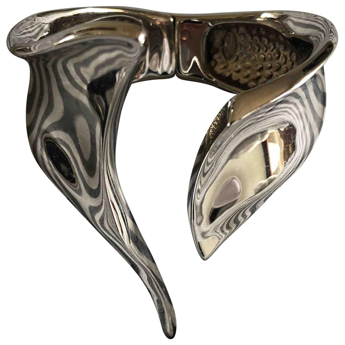 Giuseppe Zanotti \N Silver Steel bracelet for Women \N