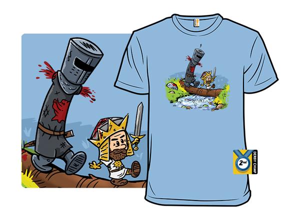 Arthur And Black Knight T Shirt