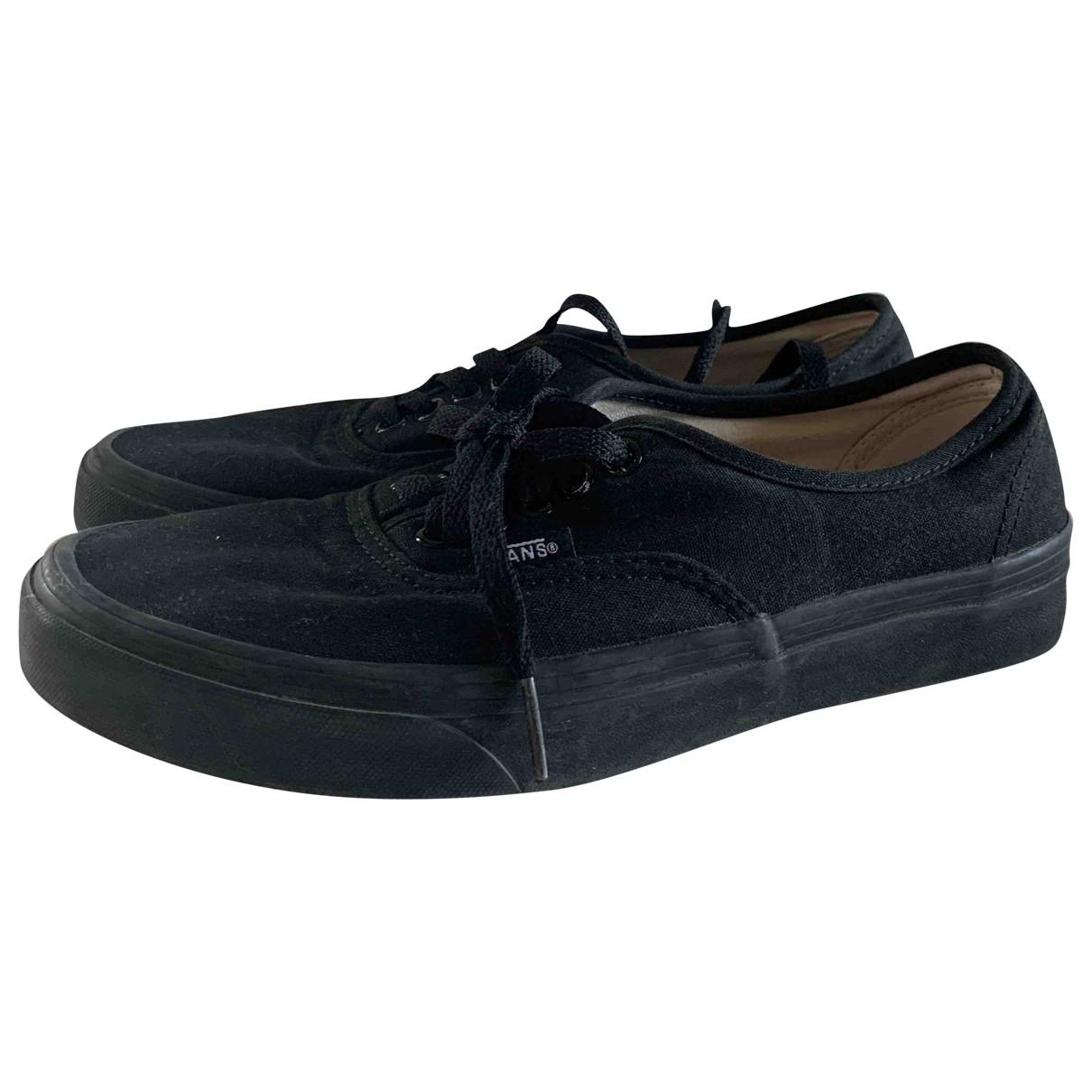 Vans \N Black Cloth Trainers for Women 38.5 EU