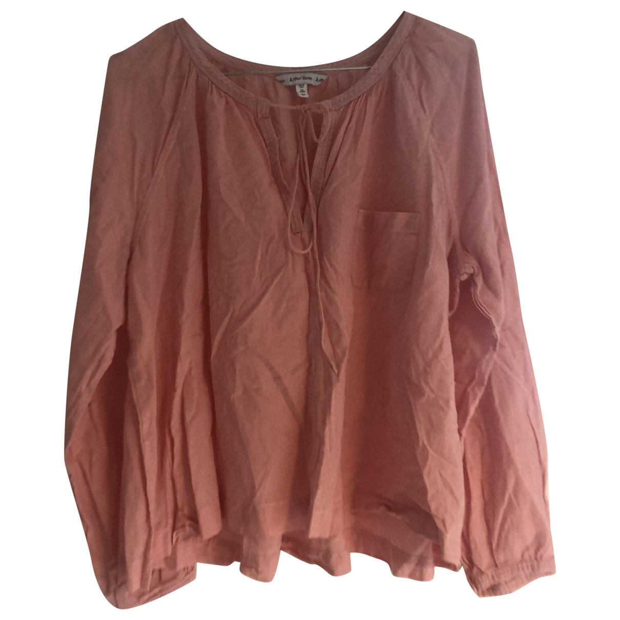 & Stories \N Pink Cotton  top for Women M International