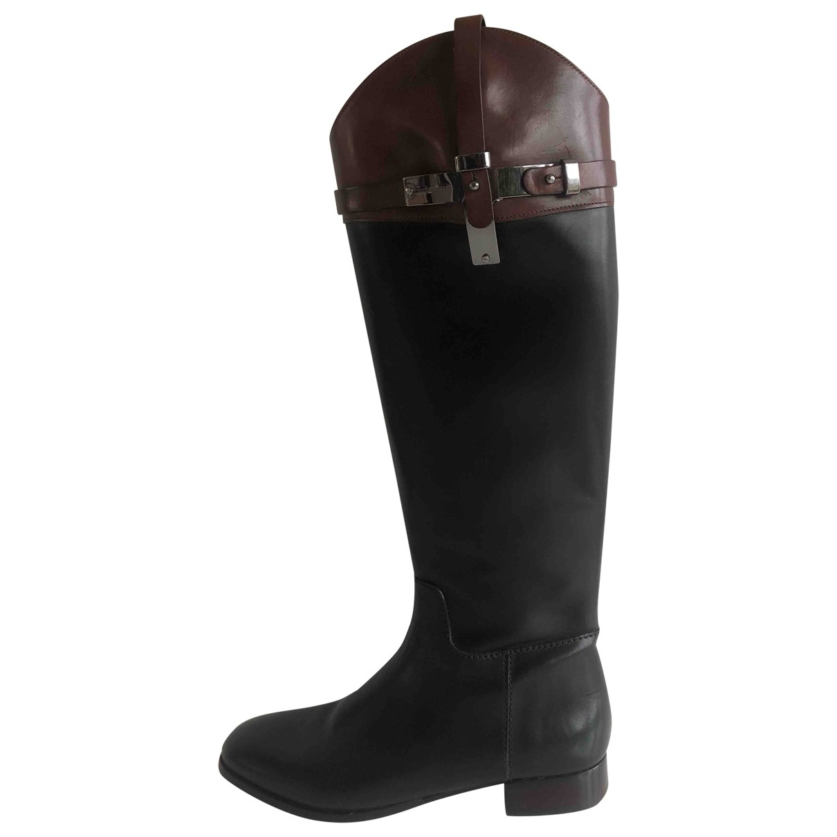 Luis Onofre \N Leather Boots for Women 37 EU